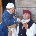 shaving a gentleman